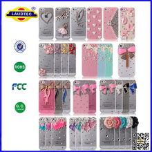 MOBILE DELUXY CRYSTAL DIAMOND BOW BLING CASE MOBILE PHONE COVER FOR APPLE IPHONE 5 6
