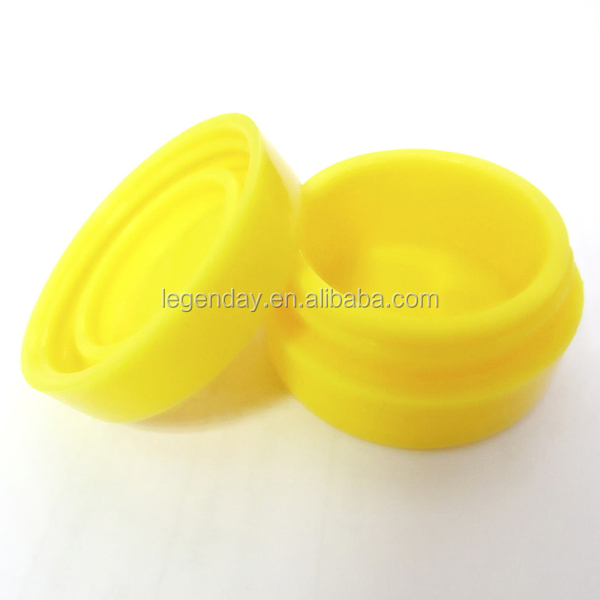 Non stick silicone container concentrate oil