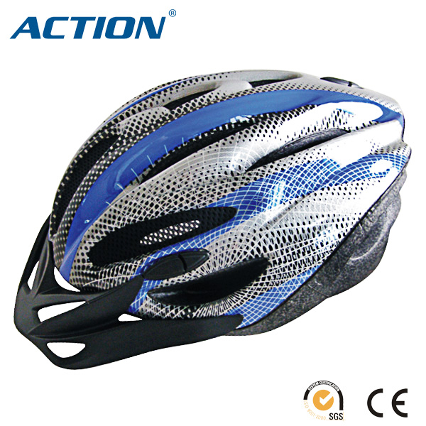 sport look riding helmet unique design for adult bicycle helmet with visor