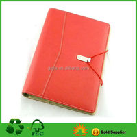 A5 PU/leather organizer diary