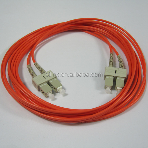 Fiber Optic Jumper SC-SC Duplex Multimode