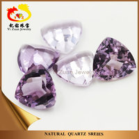 Wholesale price trillion cut natural loose amethyst gemstone
