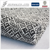 Jiufan textile rayon hacci fabric the latest sweater designs for men