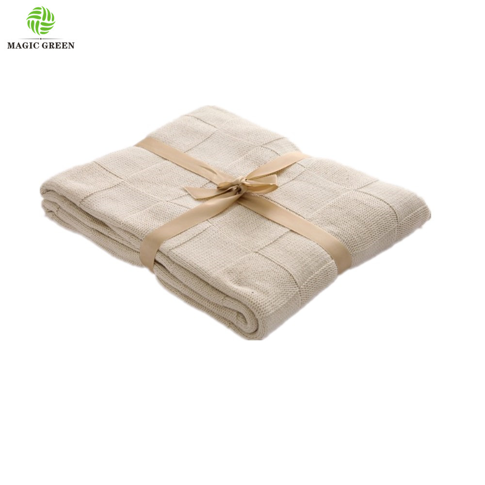 max 220cm width wholesale  luxury 100% cotton acrylic yarn dyed check square diamond basketweave  bedding baby  throw blanket