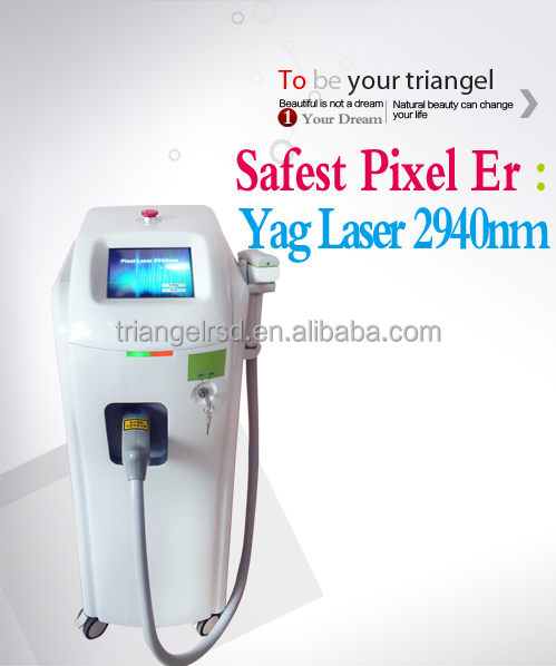 low operation cost 2940nm er yag laser for acen removal & scar removal