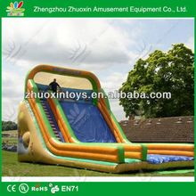 Popular Commercial cheap giant inflatable christmas slides