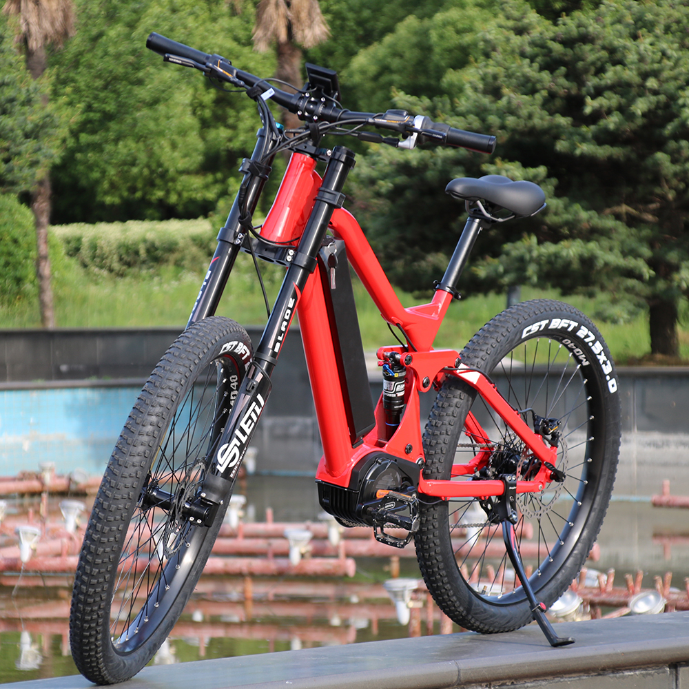 New product mountain ebike <strong>1000</strong> <strong>w</strong> electric bike 48v with lithium battery mid drive motor