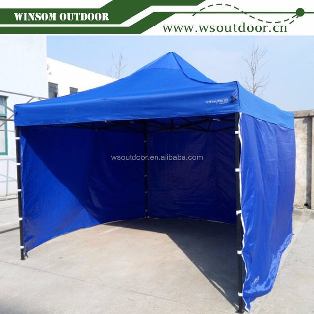 10x10 Feet Easy Pop Up Canopy Folding Tent w/ Removable Sidewall Carry Bag