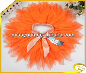 2015 Cheapest bowknot veil tutu dance wear