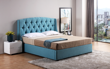 luxury furniture bed designs cheap PU leather wooden kids bed