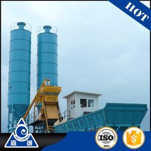 small mobile ready mixed concrete batching plant / concrete mixing station price for sale