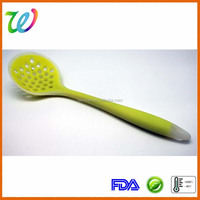 Silicone Slotted Skimmer Colander Strainer Spoon Scoop Kitchen Party Dry Tool