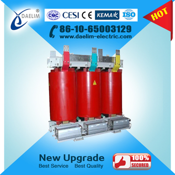 Step Down Dry Type Transformer 10kv to 6 kv 2500kva with Iron Core