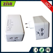 Zisa Powerline homeplug wifi 500Mbps communication adapter with CE, FCC, certificate
