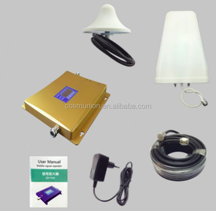 2g /3g/4g dual band cell phone Signal Booster,DCS/WCDMA Dual band booster repeater amplifier