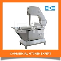 Floor Standing Butcher Electric Meat Band Saw Cutting Bone Machine