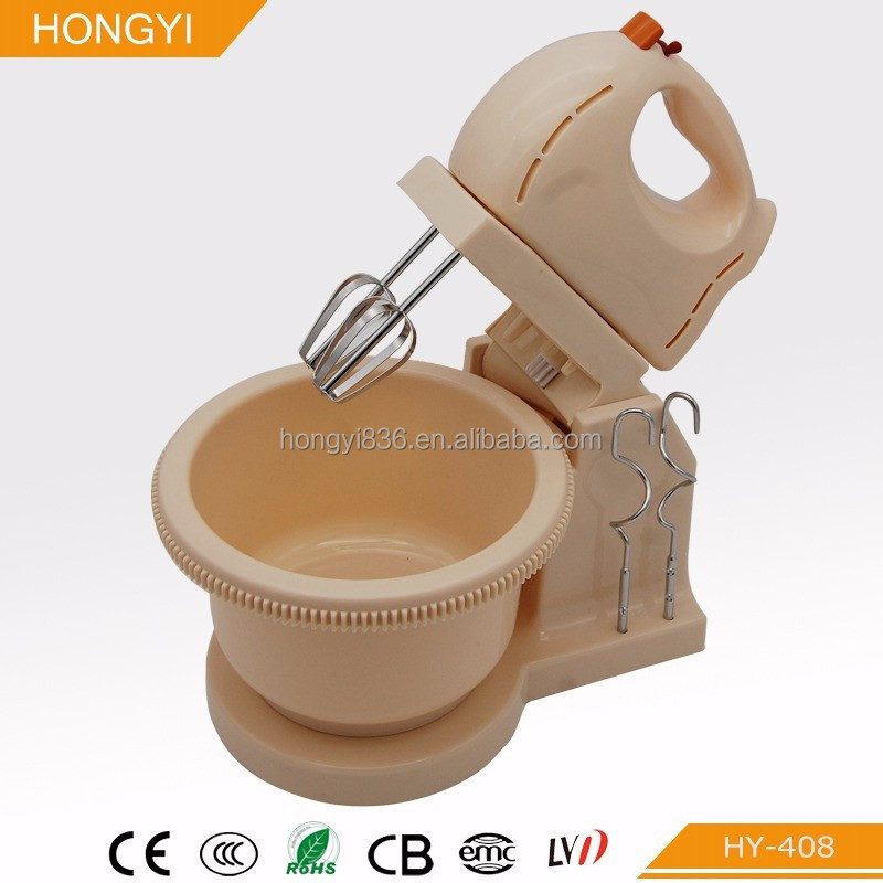 200W electric stand mixer, stand egg beater, automatic rotary egg beater