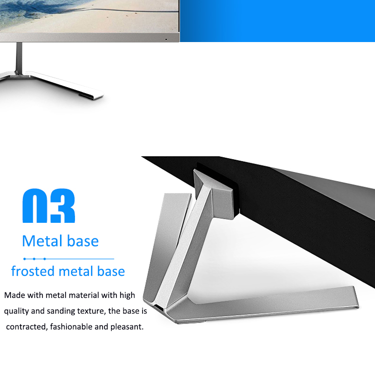 New ultra-thin 24 inch frameless widescreen gaming Led monitor with IPS Panel type