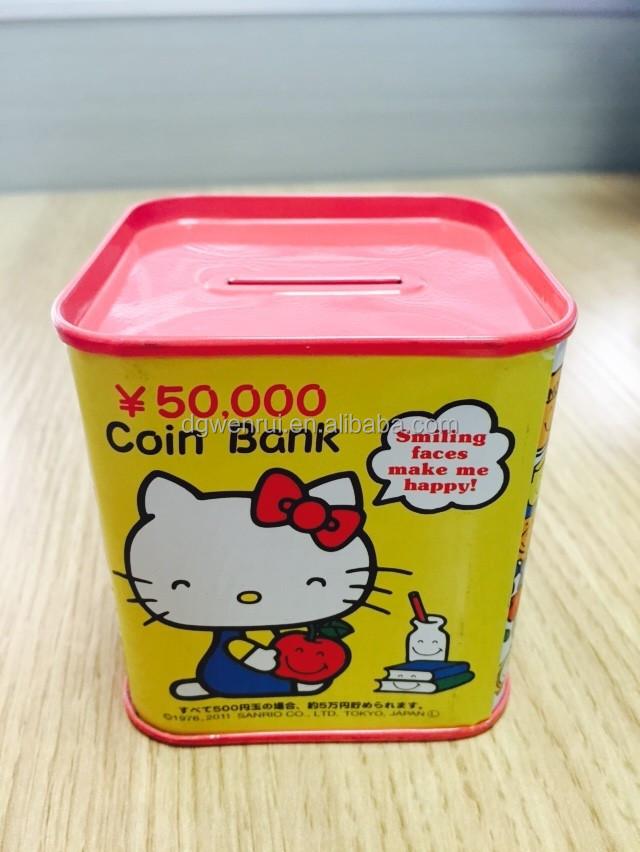 Best children 39 s piggy bank cartoon secret money box buy for Secret piggy bank