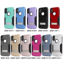factory cheap price new design custom logo PC and TPU mobile phone case for iphone X