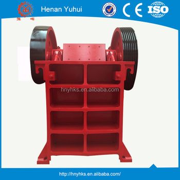 low power consumption PE-250*400 15kw used jaw crusher