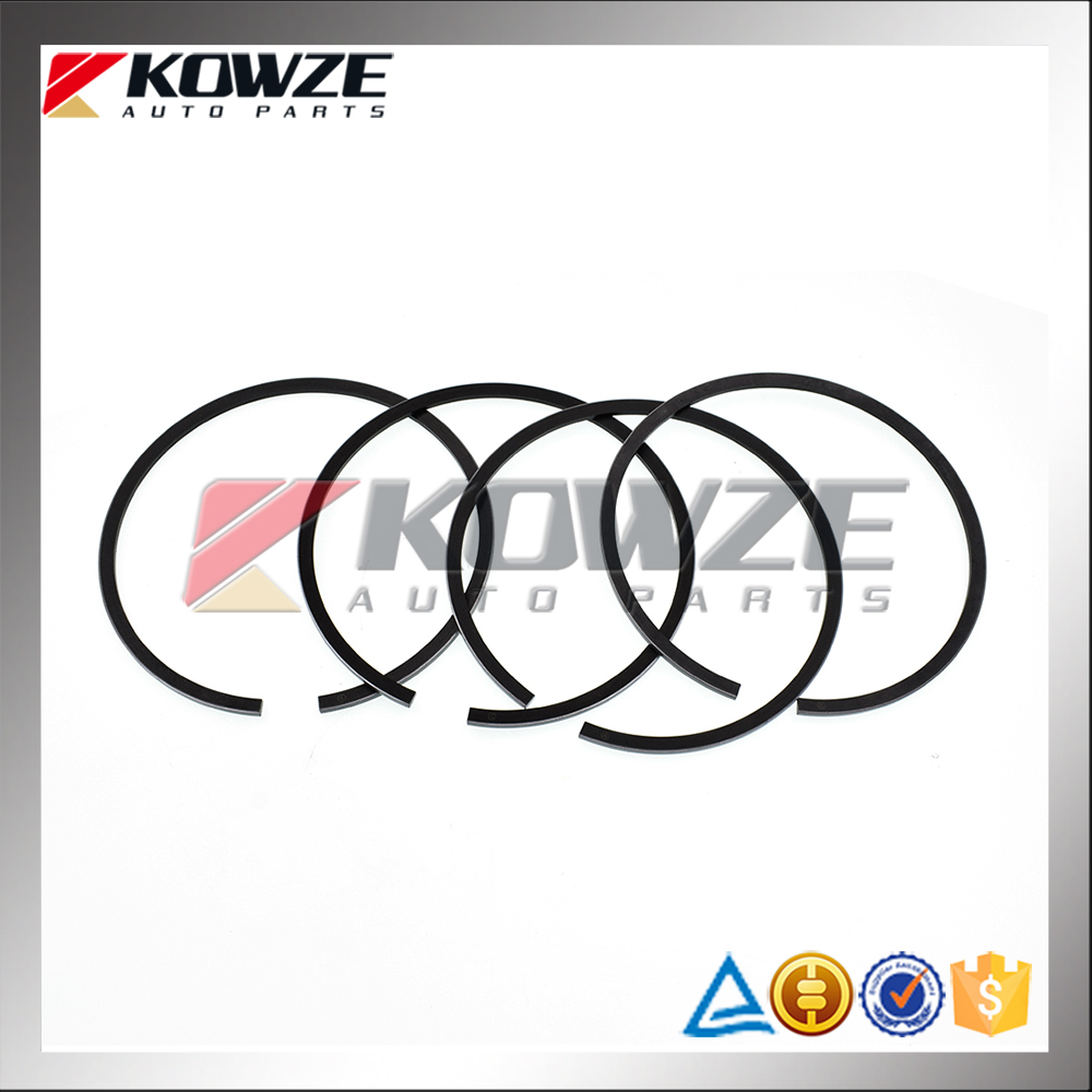 Car Engine Parts Piston Ring Set For Mitsubishi Pajero Montero 4D56 4D55 MD050390
