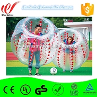 A great variety of models soccer bubble,inflatable body zorb ball ,inflatable bumper ball BW7272