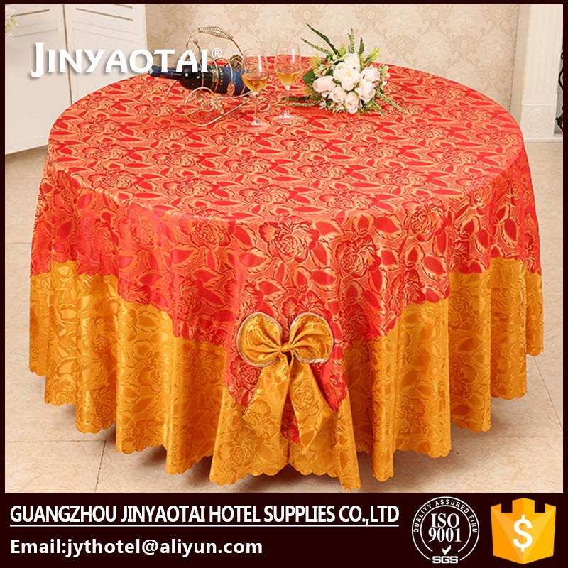Lace Fabric wholesale fabric champagne sequence table cloth