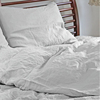 100% pure linen bedding set /stone washed flax linen bedding