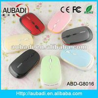 Brand Rapoo Wireless Colorful Rainbow Optical Mouse