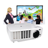 3LCD smart tv projector native 1024 by 768 led outdoor projectors for advertising