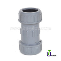 Plastic PVC water pipe Expansion quick joints coupling DIN rubber Ring