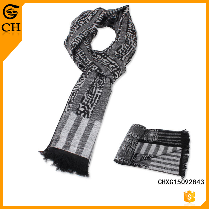 Hot Sell Promotional Latest Design School Boy Fashion Soft Scarf