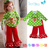 fashion baby girls christmas outfits kids clothing for thanksgiving days kids wear