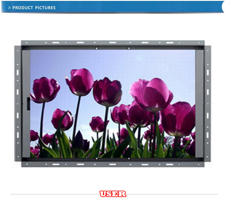 19 inch open frame lcd monitor with touch