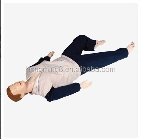 Advanced Multi-functional First-aid CPR manikin,Adult CPR Training Dummy,Manikin CPR