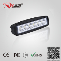"6"" 18W ATV Motor LED Light Bar,led work lamp for agricultural machine"
