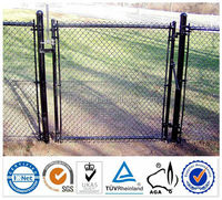 Hot dipped galvanized or pvc cotaed high quality factory suppliers price BV certificates used chain link fence post