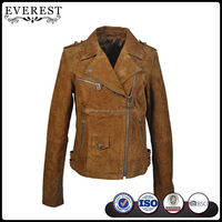 High Quality Pig Skin Leather Jacket New Style Pig Split Leather Jacket