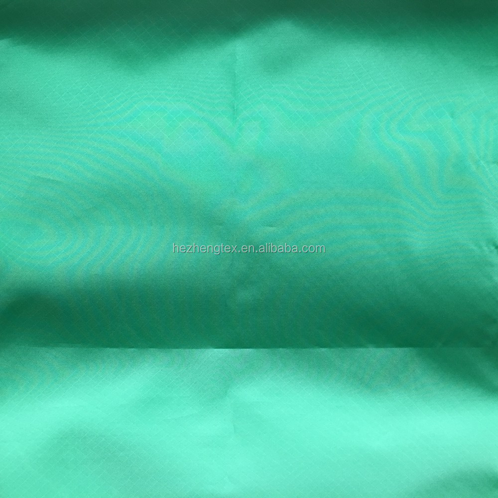 ultralight ribstop nylon fabric with liquid silicone rubber spray coating