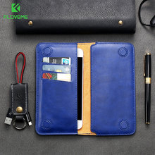 Universal Wallet Phone Case FLOVEME Brand Cell Phone Leather Pouch,FLOVEME Wallet Magnetic Leather Case
