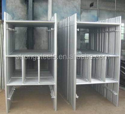 Self Closing Ladder Access Gate For Scaffolding