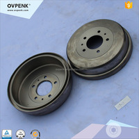 high performance Rear Brake Drums For MITSUBISHI DELICA / Freeca MB193595 Auto Parts