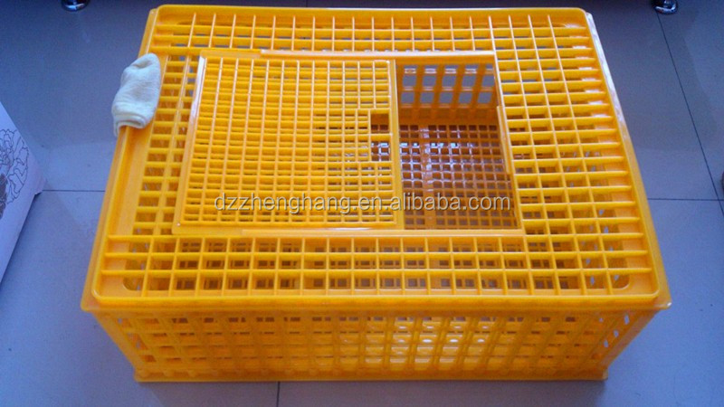 High quality Plastic chicken crates ,chicken transport basket ,chicken coops for 15 chickens