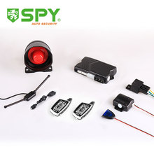 Two way anti-hijacking car security alarm system, remote engine start car alarm
