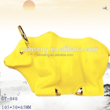 24k gold plated Decorative Cow for gifts