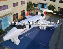 advertising inflatable airplane model