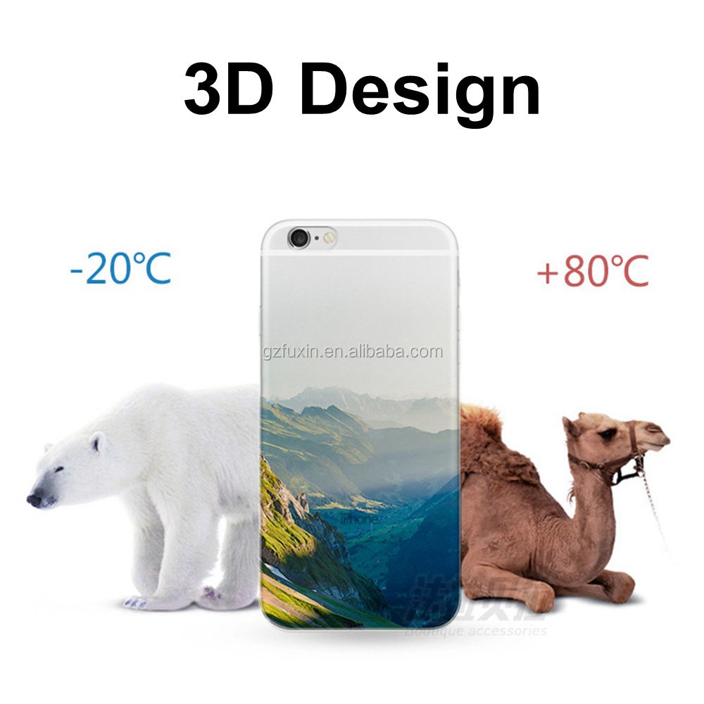 OEM service android smartphones cases 3d sublimation tpu case for note 5