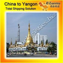 Guangzhou to YANGON,lcl shipping forwarder