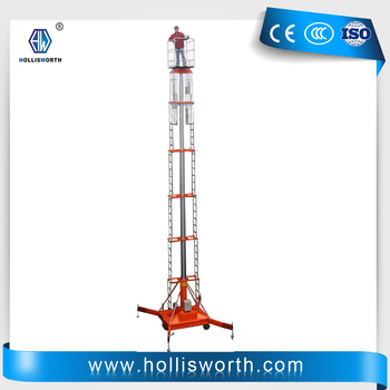 Telescopic Cylindrical Aerial Work Platform